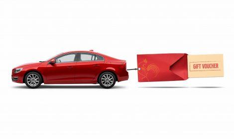 """""""วอลโว่"""" เปิดแคมเปญพิเศษฉลองตรุษจีน ออกรถวันนี้…แจกอั่งเปาสูงสุด 50,000 บาท ผ่อนชำระเพียงเดือนละ 1% พร้อมฟรีประกันภัยชั้น 1"""
